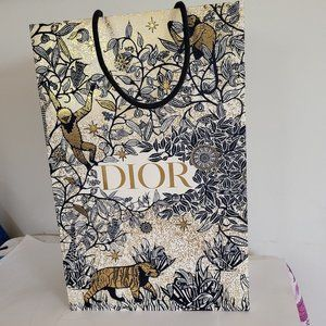 Tall limited Edition DIOR shopping bag NEW